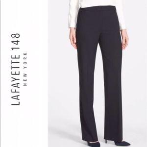 Make Offer Lafayette 148 Menswear Wool Trousers